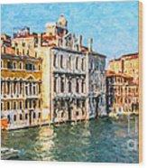 Venice - Grand Canal Wood Print