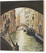 Venice II Wood Print