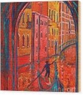 Venice Impression Viii Wood Print by Xueling Zou