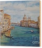 Venice In The Afternoon Wood Print