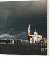 Venice Island Saint Giorgio Maggiore Wood Print