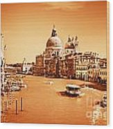Venice Italy Grand Canal Wood Print