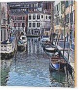 Venice Italy Iv Wood Print