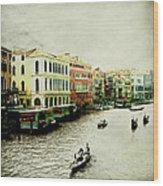Venice Italy Magical City Wood Print