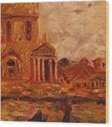 Venice Morning Wood Print