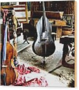 Venice Music 1 Wood Print by Dana Patterson