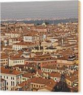 Venice Italy - No Canals Wood Print