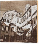 Venice Old 1 Wood Print
