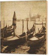 Venice Postcard Wood Print