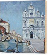 Venice - Scuola Di San Marco Wood Print