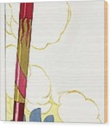 Venice Silouhette Wood Print
