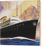 Venise Vintage Travel Poster Wood Print