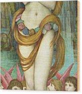 Venus Wood Print by John Roddam Spencer Stanhope