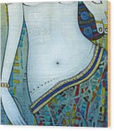 Venus With Doves Wood Print