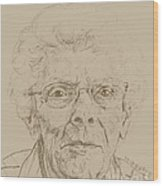 Vera Wood Print