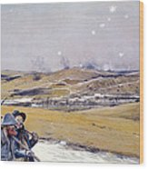 Verdun, 1916 Oil On Canvas Wood Print