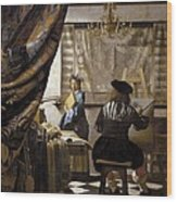 Vermeer, Johannes 1632-1675. The Wood Print by Everett