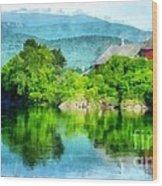 Vermont Farm Along The Connecticut River Wood Print
