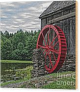 Vermont Grist Mill Wood Print