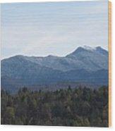 Vermont Mountains Wood Print