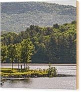 Vermonts Lake Fairlee Wood Print