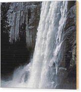 Vernal Falls Profile Wood Print