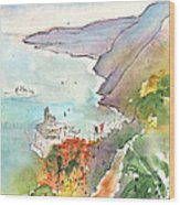 Vernazza In Italy 06 Wood Print
