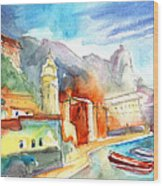 Vernazza In Italy 07 Wood Print