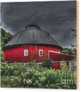 Vernon County Round Barn Wood Print
