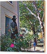 Vernon-wister House Wood Print