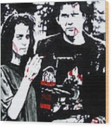 Veronica And J.d. Wood Print