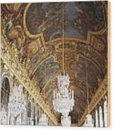 Versailles Hall Of Mirrors Wood Print