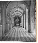 Versailles Hallway Wood Print