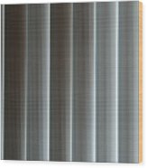 Vertical Blinds Wood Print