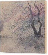 Vertical Tree  Wood Print