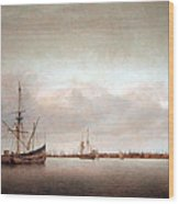 Verwer's View Of Hoorn Wood Print
