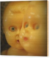 Very Scary Doll Wood Print