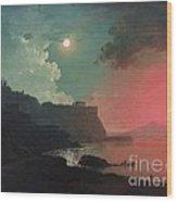 Vesuvius From Posillipo Wood Print