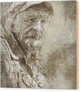 Veteran Wood Print
