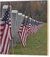 Veterans Day Wood Print