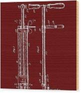 Veterinary Molar Extraction Patent 1911 Wood Print