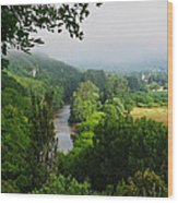 Vezere River Valley Wood Print