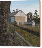 Vf Farmstead Wood Print