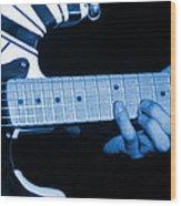 Vh #20 In Blue Wood Print