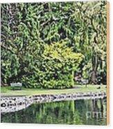 V.i. 0121 Wood Print