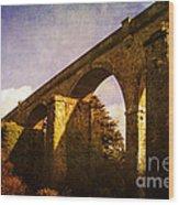 Viaducts Wood Print