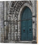 Viana Do Castelo Cathedral Wood Print by James Brunker