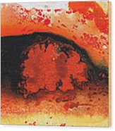 Vibrant Abstract Art - Leap Of Faith By Sharon Cummings Wood Print