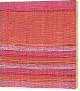 Vibrant Cloth Wood Print
