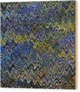Vibrant Colors Wood Print